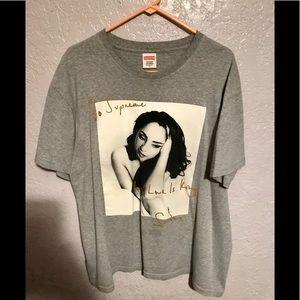 Supreme - SS2017 Sade T-shirt - Heather Grey
